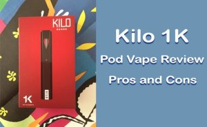 Kilo 1K Pod Vape Review - Featured image