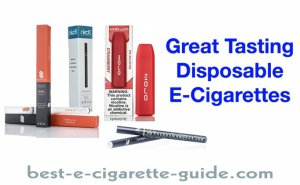 Great Tasting Disposable E-Cigarettes