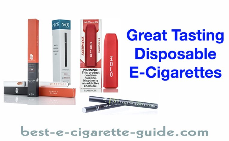 Great Tasting Disposable E-Cigarettes