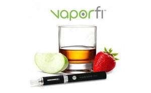 Vaporfi apple bourbon strawberry with pro 3 vaporizer
