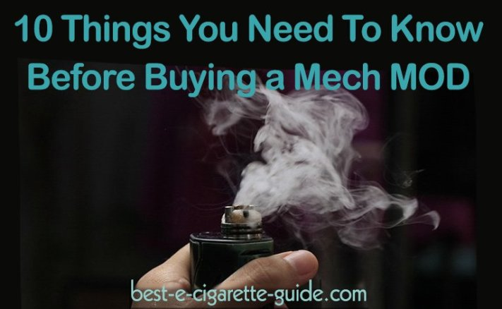 10 Things You Need to Know Before Buying a Mech Mod-Title Image