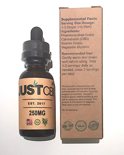 Just CBD Honey Oil Tincture