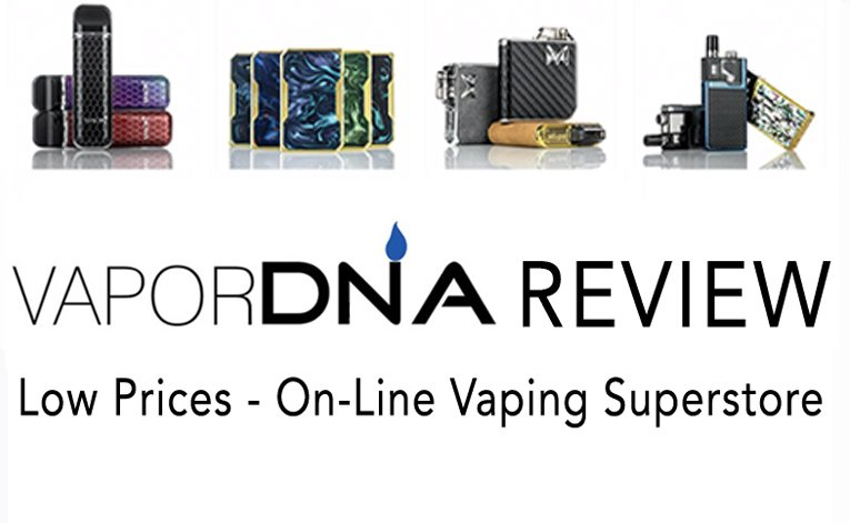 VaporDNA Review Featured Image on best-e-cigarette-guide.com