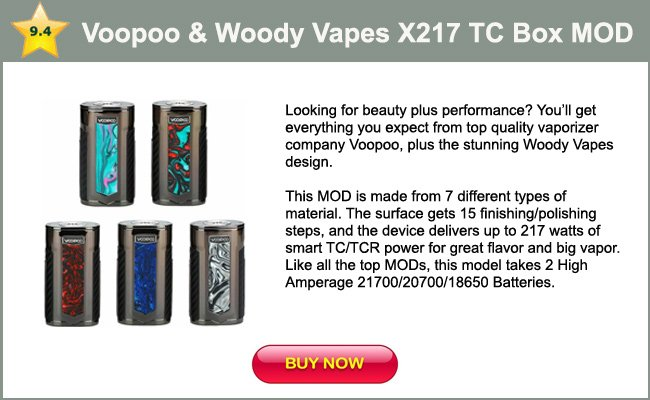 Voopoo and Woody Vapes-mini review
