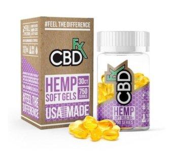 CBDFx Hemp Soft Gels