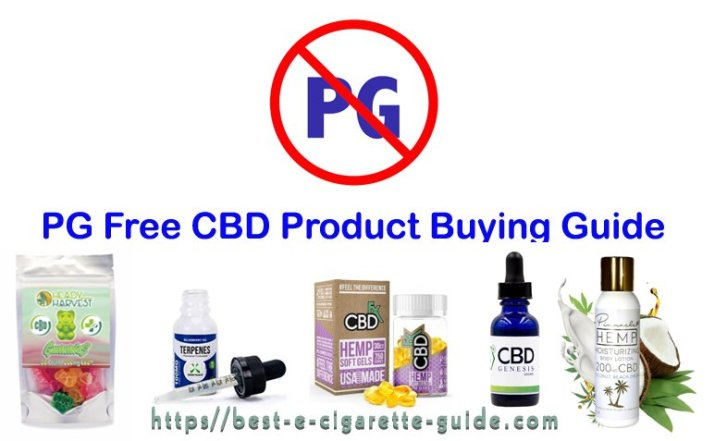 PG Free CBD Product Buying Guide-Title Image