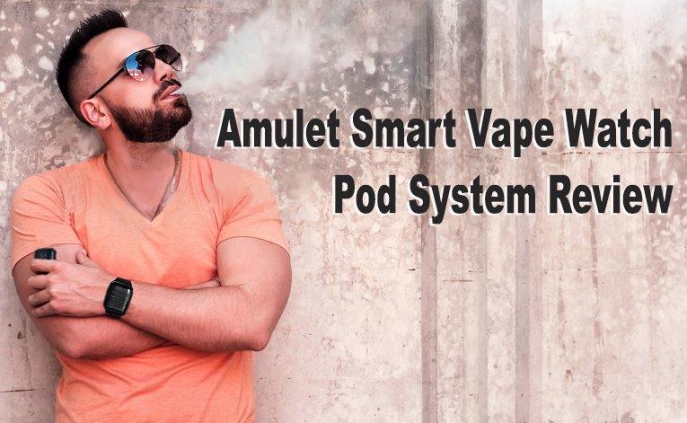 Amulet Smart Vape Watch Pod System Review-best-e-cigarette-guide.com