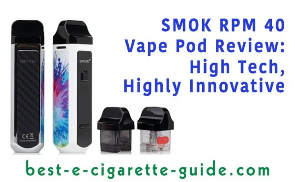 Smok RPM40 Vape Pod Review