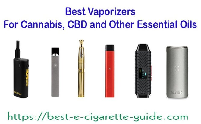 Best Vaporizers for Cannabis, CBD and Other Essential Oils