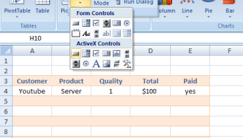 How to add camera tool to Standard Toolbar in Excel 2010