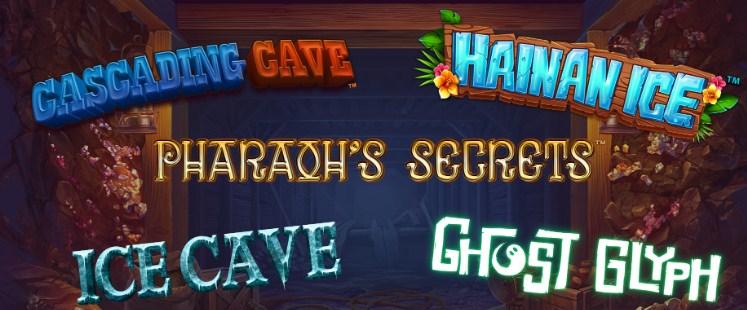 Новые игры Ronnie O'Sulivan Sporting Legends, Pharaoh's Secrets, Ghost Glyph и многое другое ФОТО