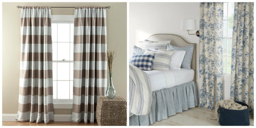 Farmhouse curtains  what style of curtains are suitable for your     farmhouse curtains  what style of curtains will suit your farmhouse