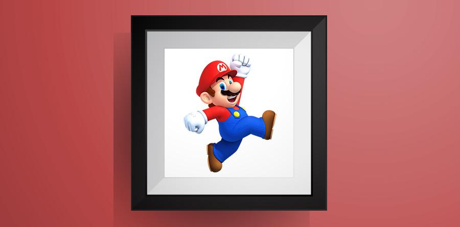 スーパーマリオ【マリオワールド】のアイロンビーズ図案! Super Mario