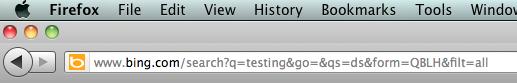 Testing  Bing