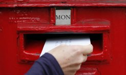 Send real letters via Internet