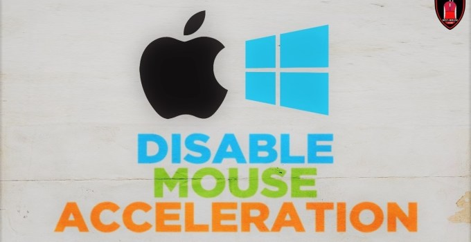 How To Disable Mouse Acceleration (Windows and Mac)