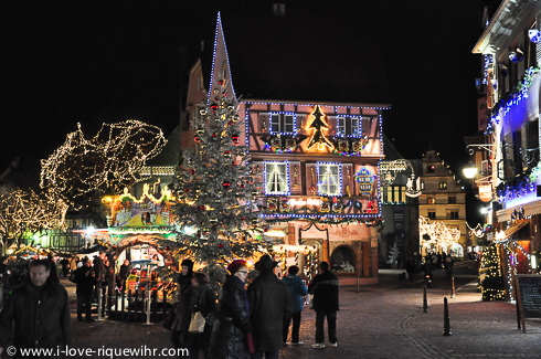 5 Christmas markets are awaiting you in Colmar!
