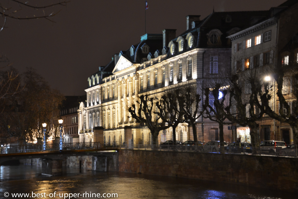 Rohan castle in Strasbourg