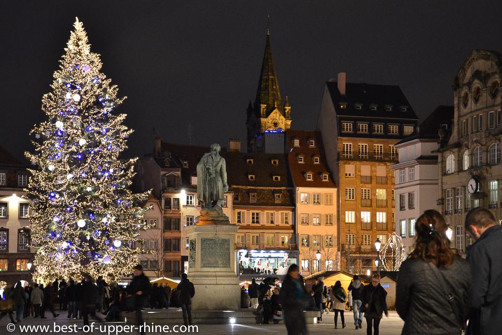 Place Klébler (Kleber square) downtown Strasbourg