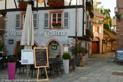 Fish restaurant in Villé, Alsace