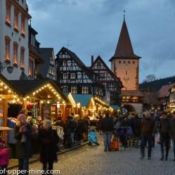 Advent market of Gengenbach, Germany