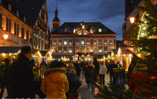 Gengenbach, Germany and the giant Advent Calendar