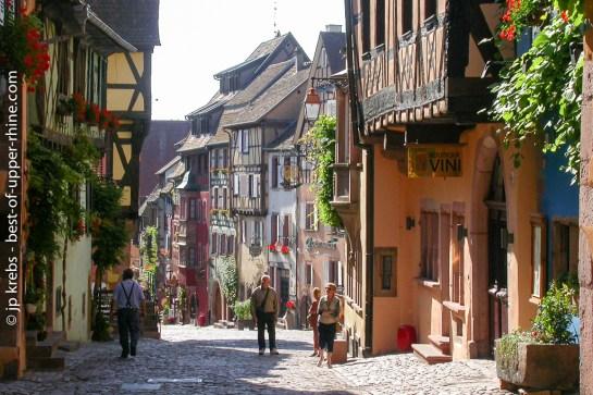 Main street of Riquewihr