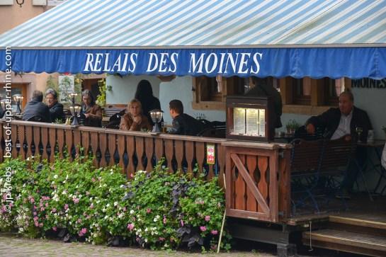 Restaurant Relais des Moines, Riquewihr, Alsace