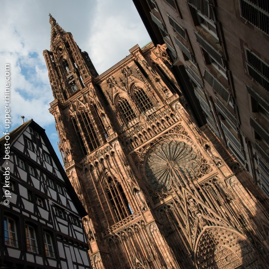 Facade of Strasbourg cathedral