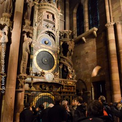 Astronomical clock. Cathedral of Strasbourg.