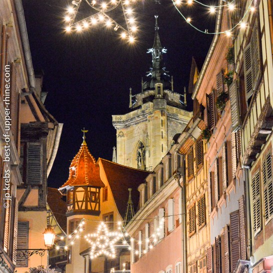 Rue des Marchands in Colmar.