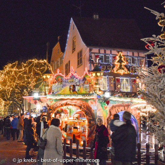 Christmas market in Colmar. Fall back into childhood!