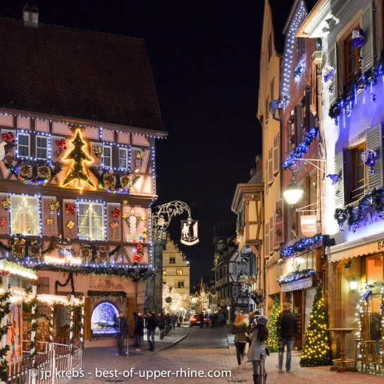 Christmas lighting in Colmar