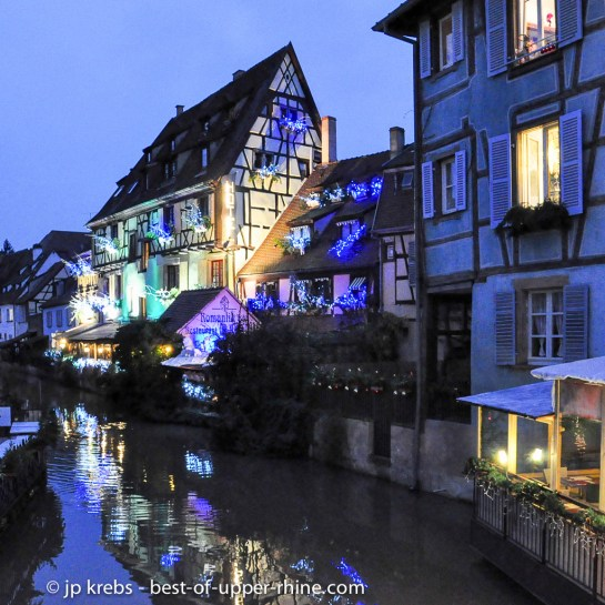 Little Venice in the old city of Colmar