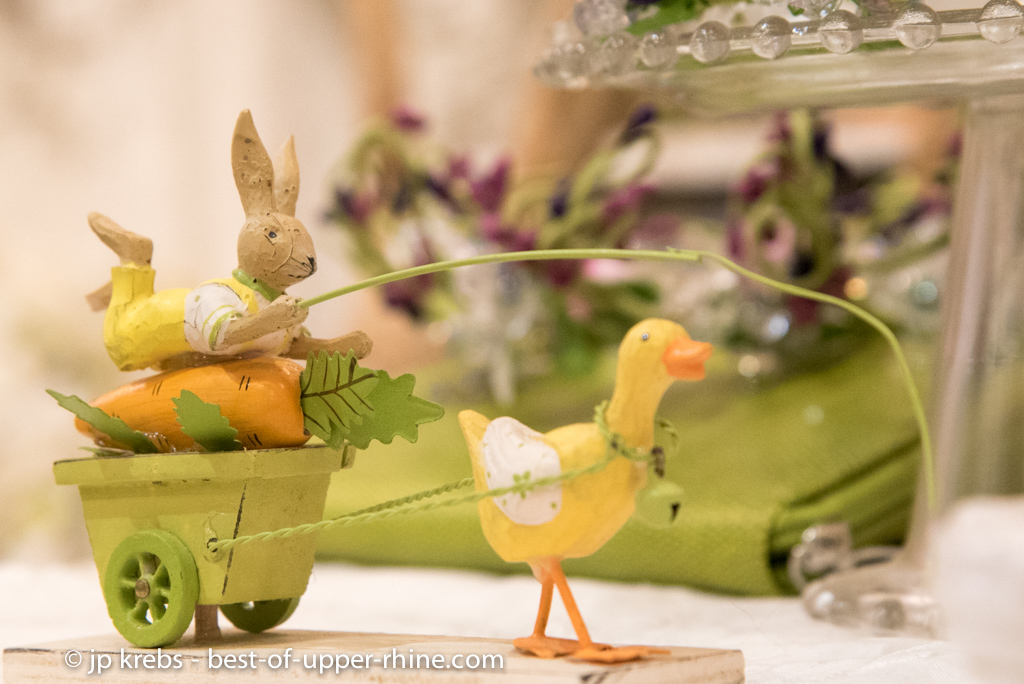 Spring in Alsace and the real history of the Easter Bunny