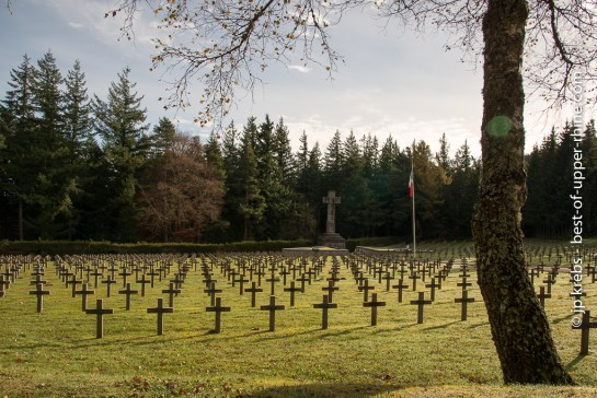 Linge cemetery of the Wettstein pass