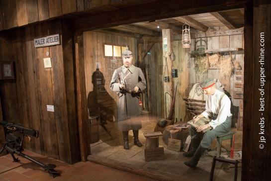 German soldiers in 1915. Linge museum.