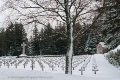 WW1 cemetery at the Wettstein pass