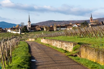 Mittelbergheim: Spring on the Alsace wine route