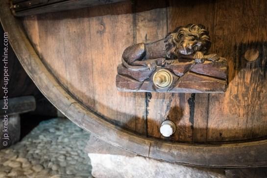 Historical cellar in Eguisheim