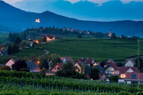 Beblenheim and Zellenberg vineyards
