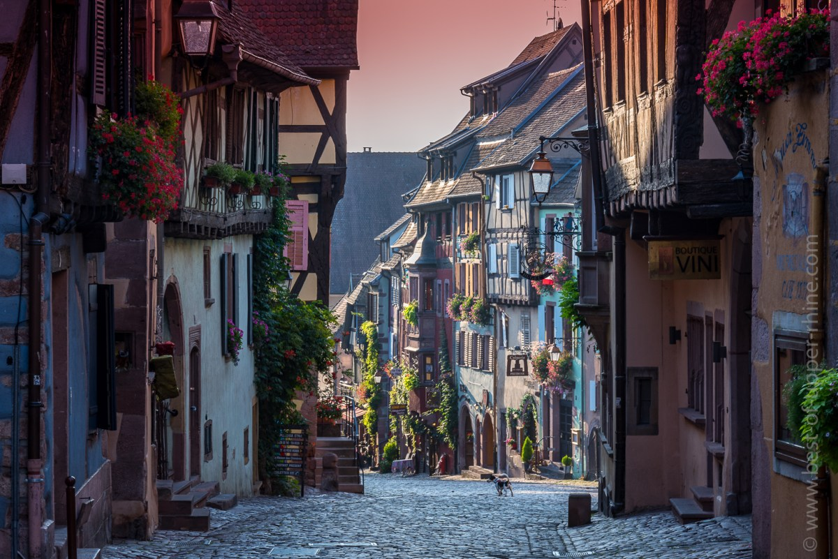 Riquewihr, most beautiful wine village …