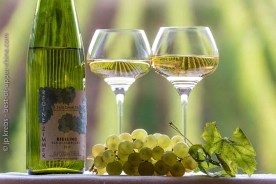 Bottle of Grand Cru Schoenenbourg Riesling
