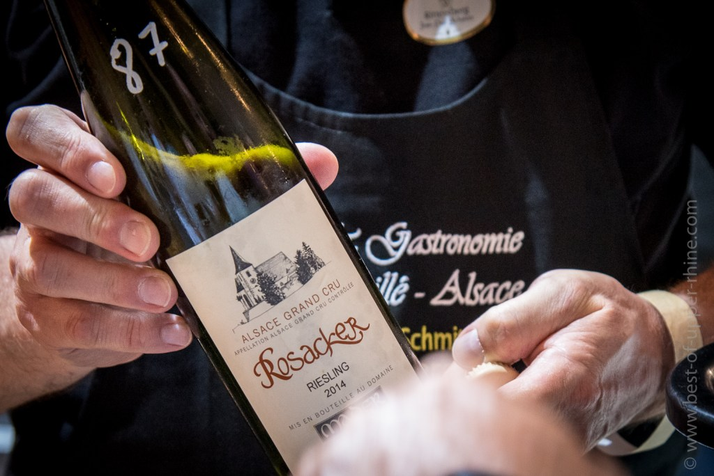 245 great wines from Alsace have been proposed for tasting!