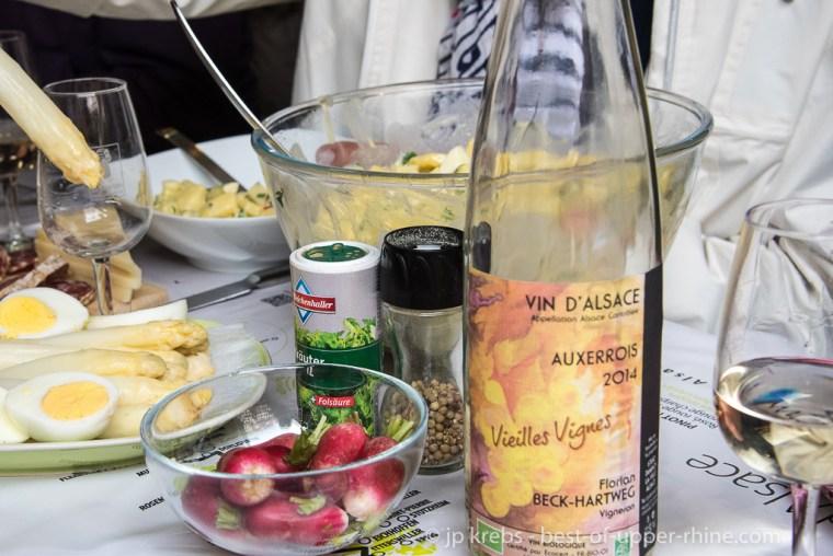 Dambach-la-Ville, Pentcost monday, picnic at the estate Beck-Hartweg