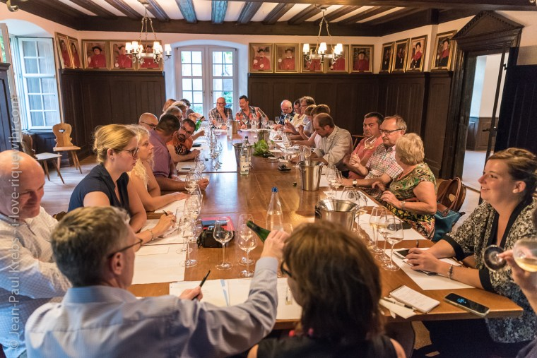 Workshop about old Riesling vintages