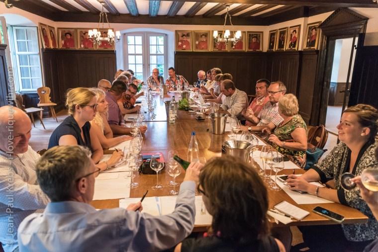 Workshop about old Riesling vintages