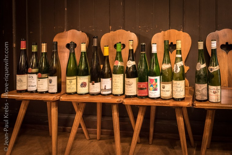 During that workshop it was all about old vintages of Riesling