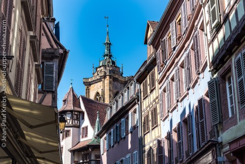 In the historical city of Colmar
