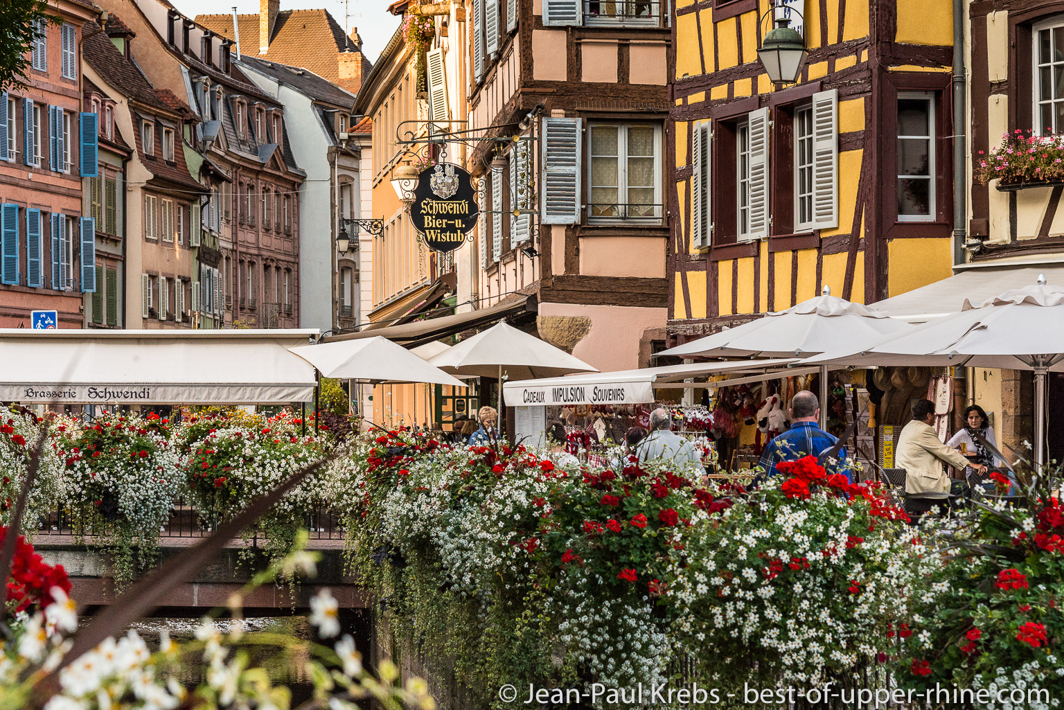 The historical city of Colmar